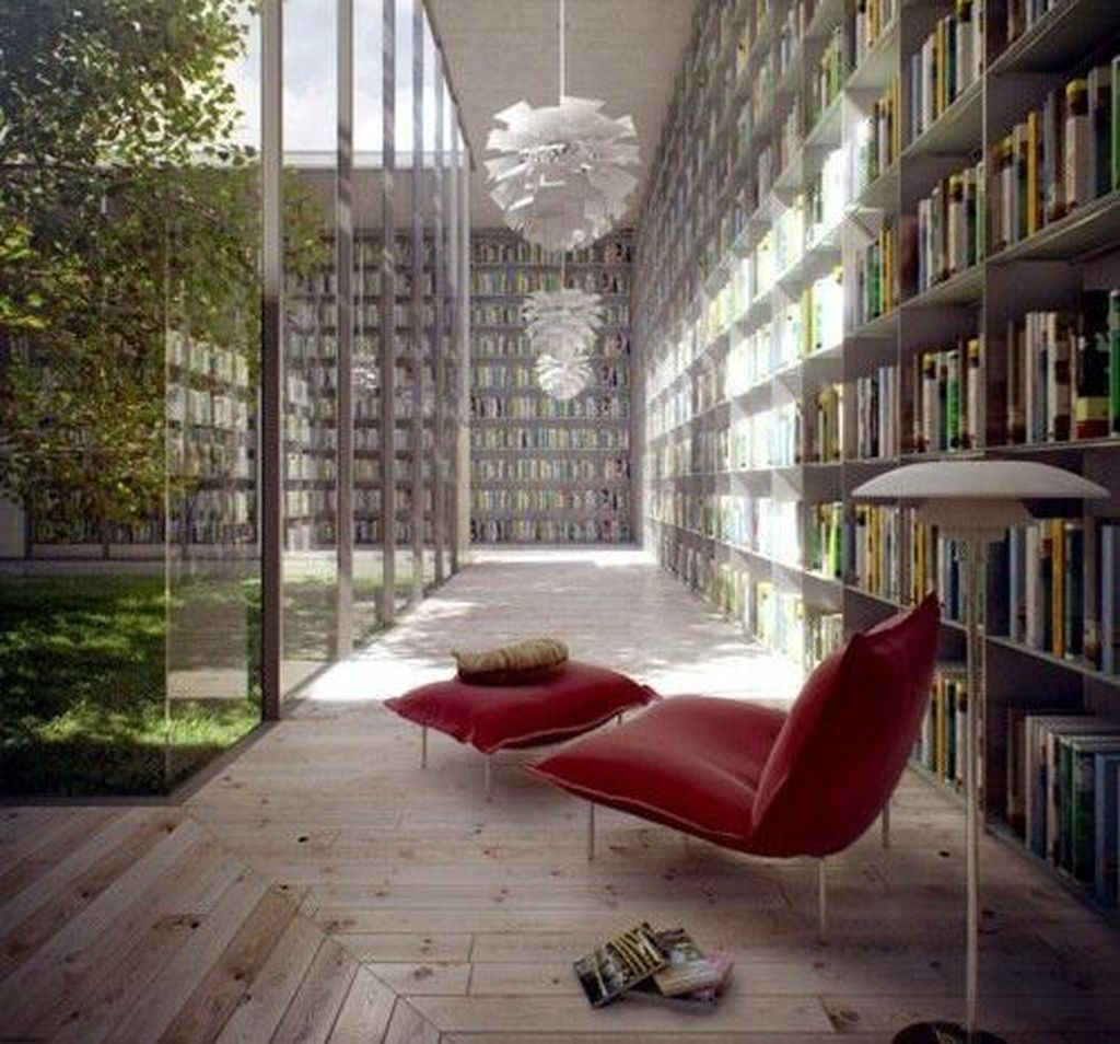Smart Library Design Ideas For Home To Add To Your List 26