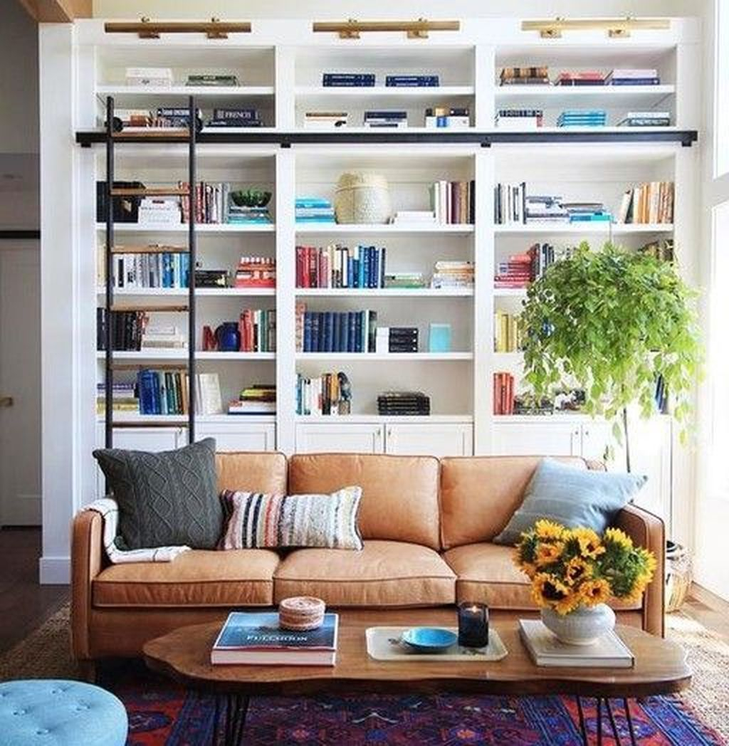 Smart Library Design Ideas For Home To Add To Your List 32