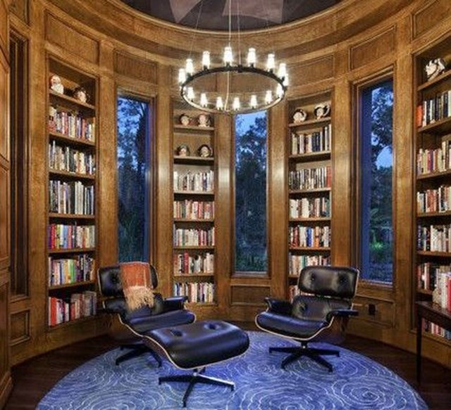 Smart Library Design Ideas For Home To Add To Your List 34
