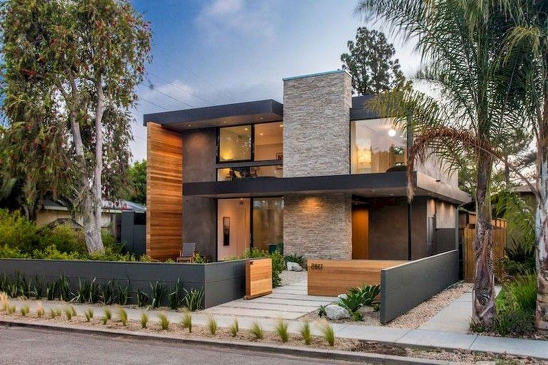 Trendy Contemporary Townhouse Design Ideas That Make Your Place Look Cool 02