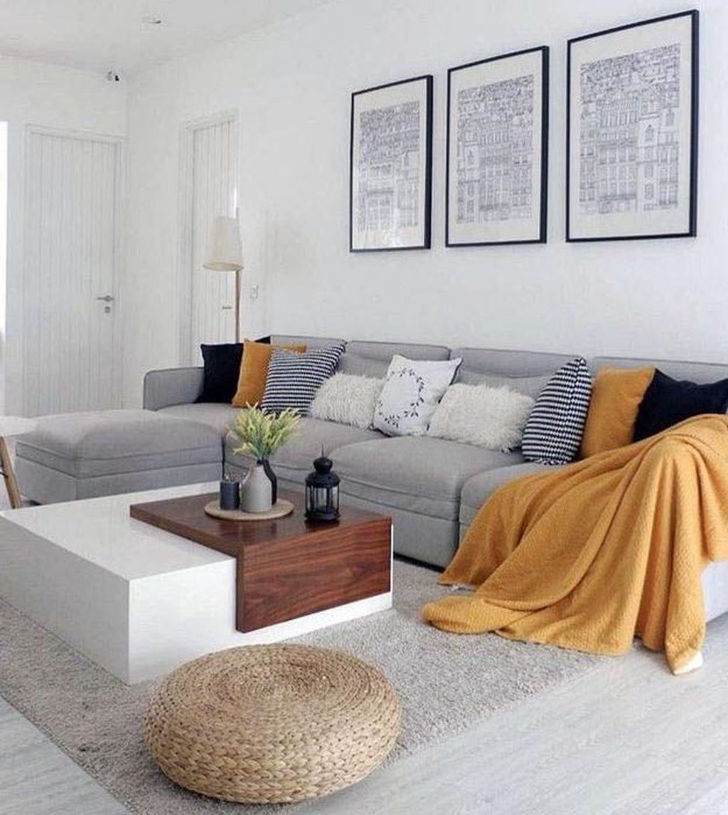 Best Minimalist Living Room Decorations Ideas 04