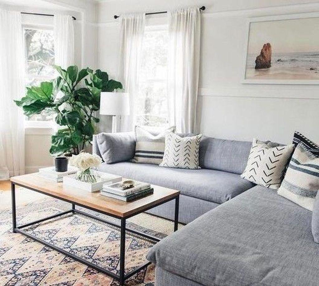 Best Minimalist Living Room Decorations Ideas 31