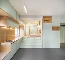 Brilliant Small Apartment Interior Design Ideas 17