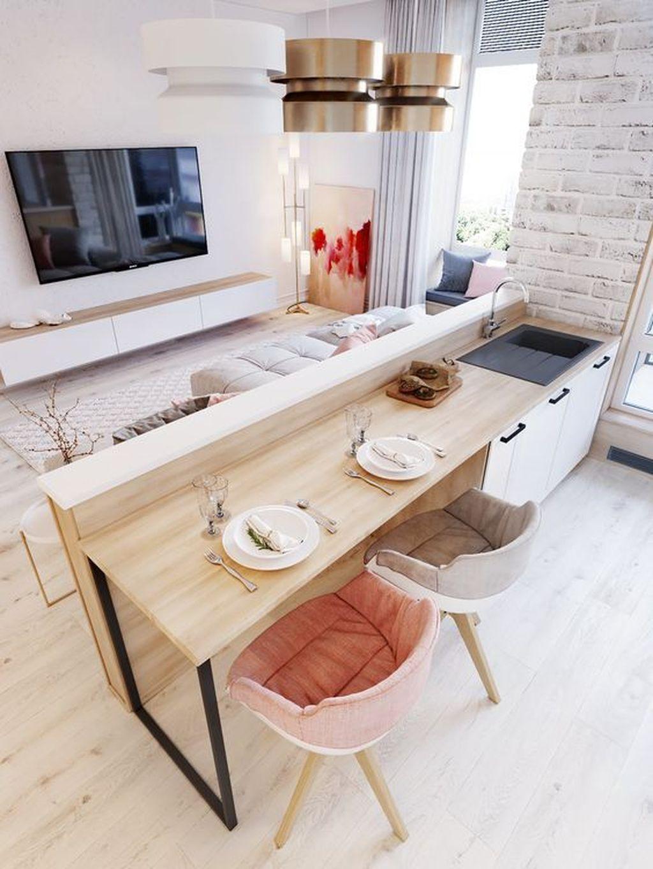 Brilliant Small Apartment Interior Design Ideas 33