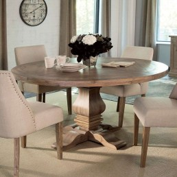 Brilliant Wood Dining Table Design Ideas That Trend Today 12