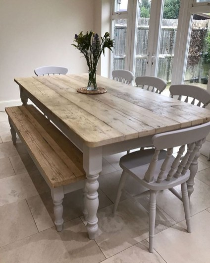 Brilliant Wood Dining Table Design Ideas That Trend Today 15