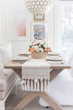 Brilliant Wood Dining Table Design Ideas That Trend Today 24
