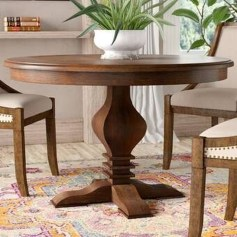 Brilliant Wood Dining Table Design Ideas That Trend Today 30