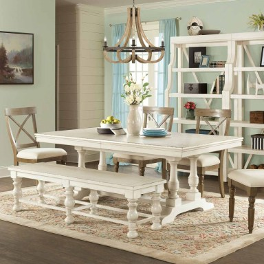 Brilliant Wood Dining Table Design Ideas That Trend Today 36