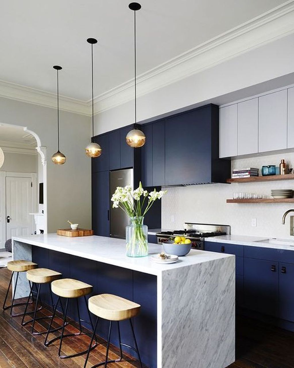 Elegant Minimalist Kitchen Design Ideas For Small Space To Try 26