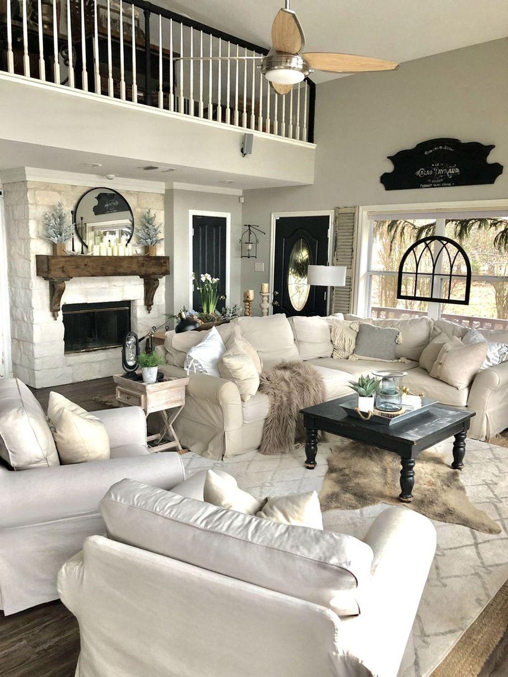 Enchanting Living Room Decor Ideas That Trending This Winter 15