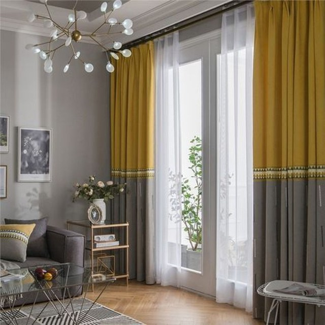 Inexpensive Living Room Curtain Design Ideas On A Budget 07