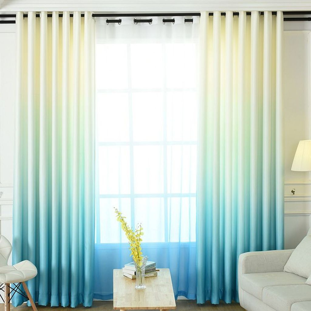 Inexpensive Living Room Curtain Design Ideas On A Budget 23