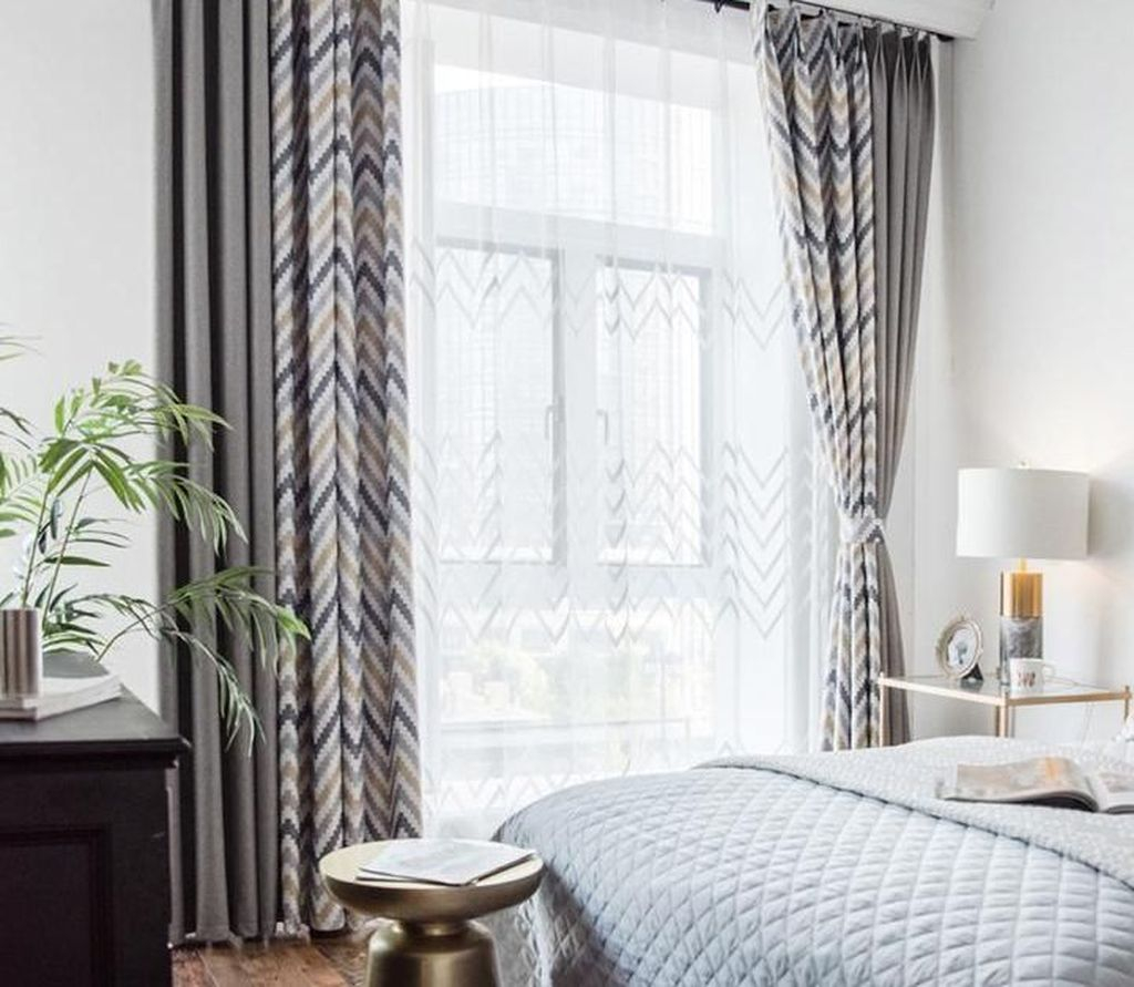 Inexpensive Living Room Curtain Design Ideas On A Budget 25
