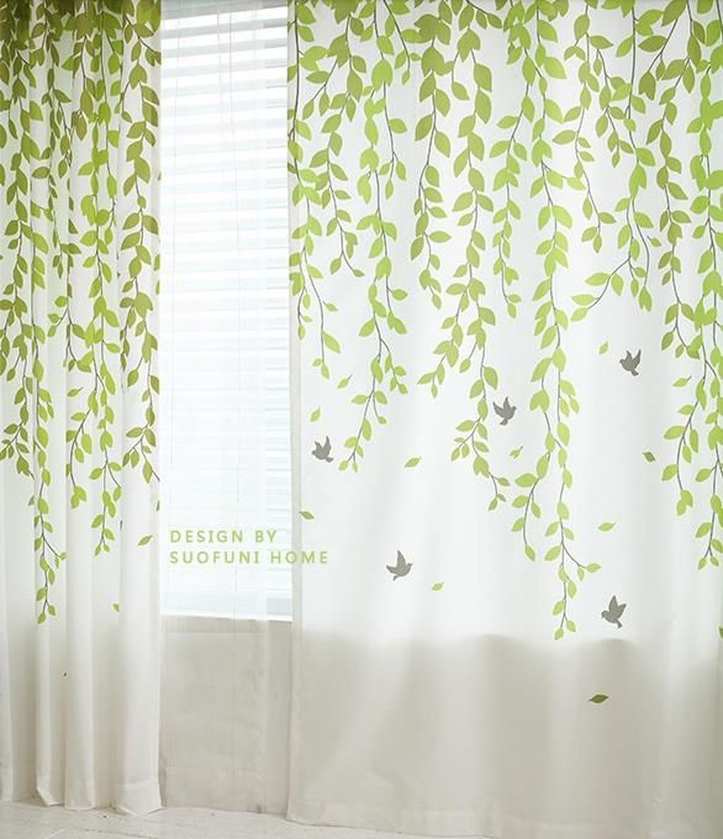 Inexpensive Living Room Curtain Design Ideas On A Budget 27