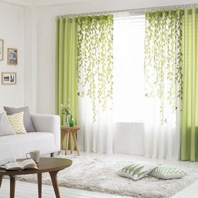 Inexpensive Living Room Curtain Design Ideas On A Budget 34
