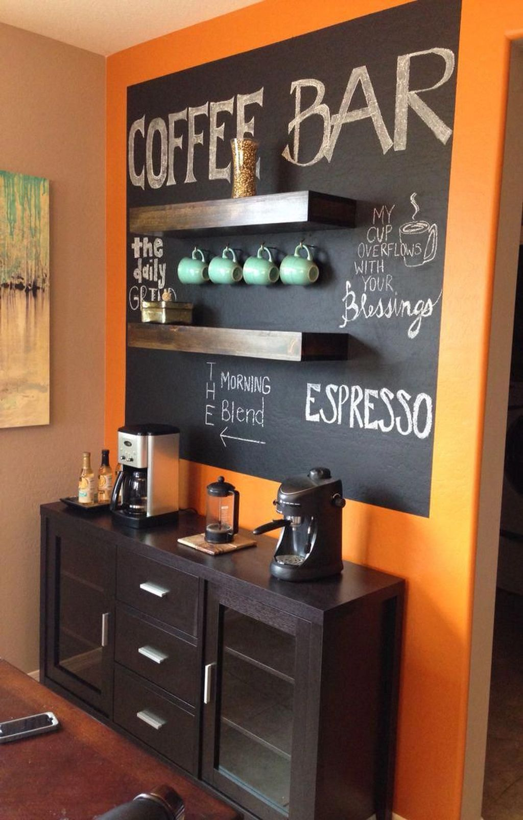 Magnificient Home Coffee Bar Design Ideas You Must Have 02