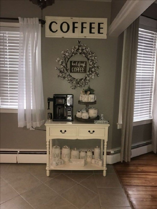 Magnificient Home Coffee Bar Design Ideas You Must Have 03