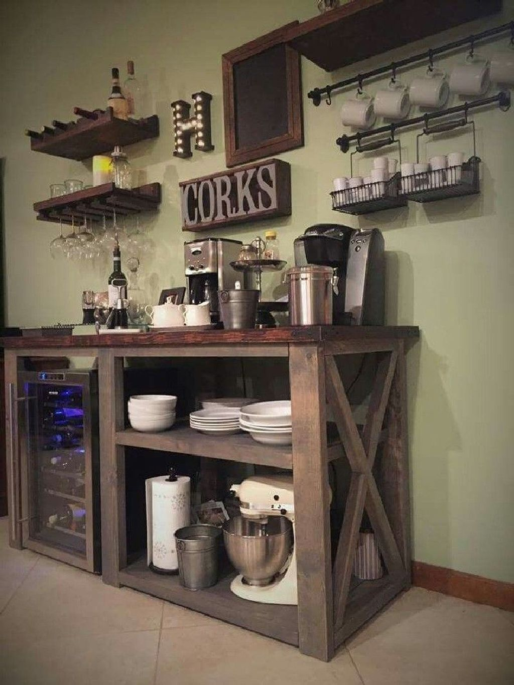 Magnificient Home Coffee Bar Design Ideas You Must Have 12