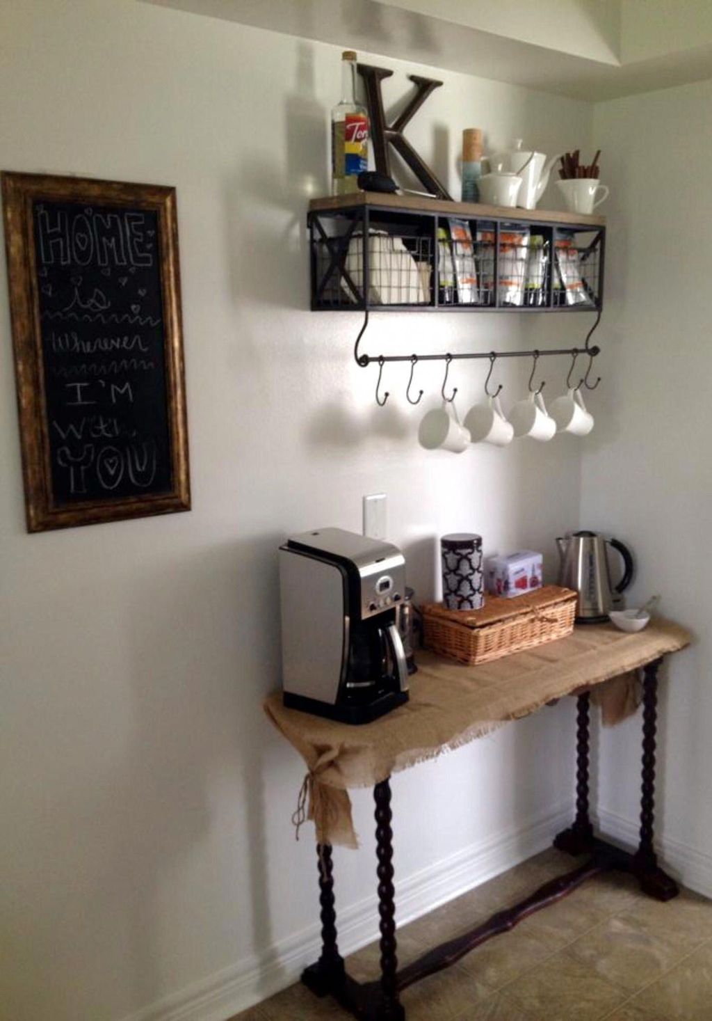 Magnificient Home Coffee Bar Design Ideas You Must Have 20