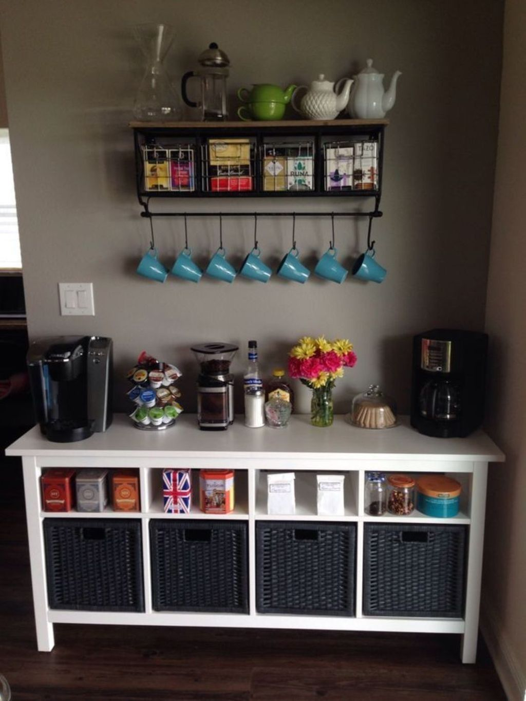 Magnificient Home Coffee Bar Design Ideas You Must Have 31