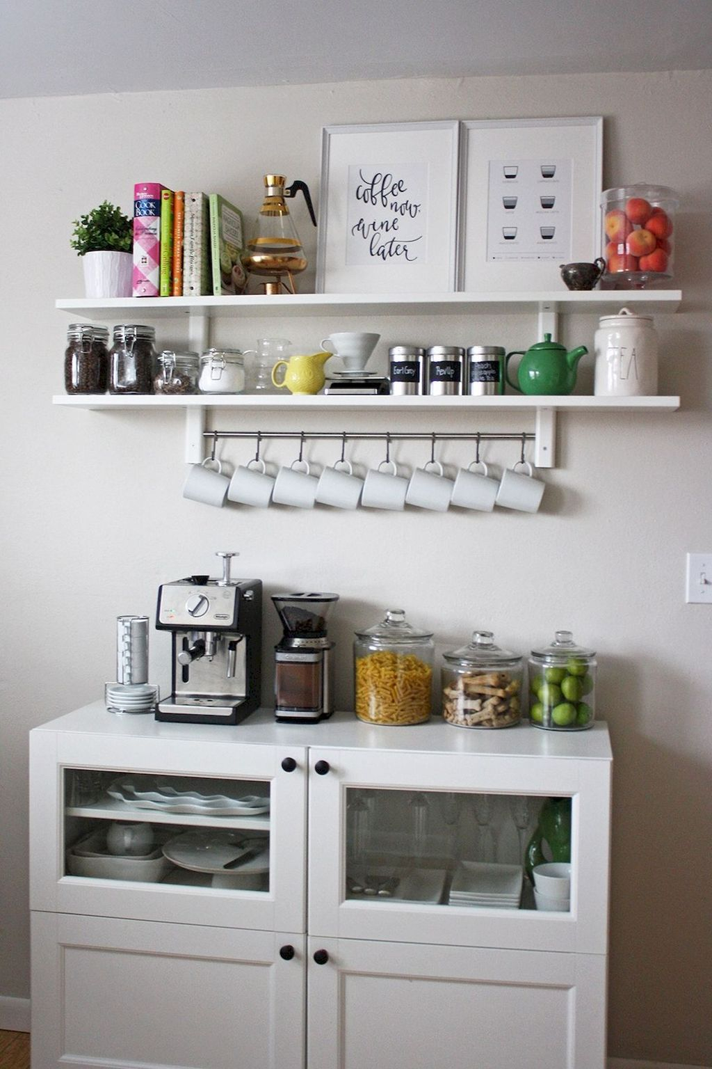 Magnificient Home Coffee Bar Design Ideas You Must Have 39