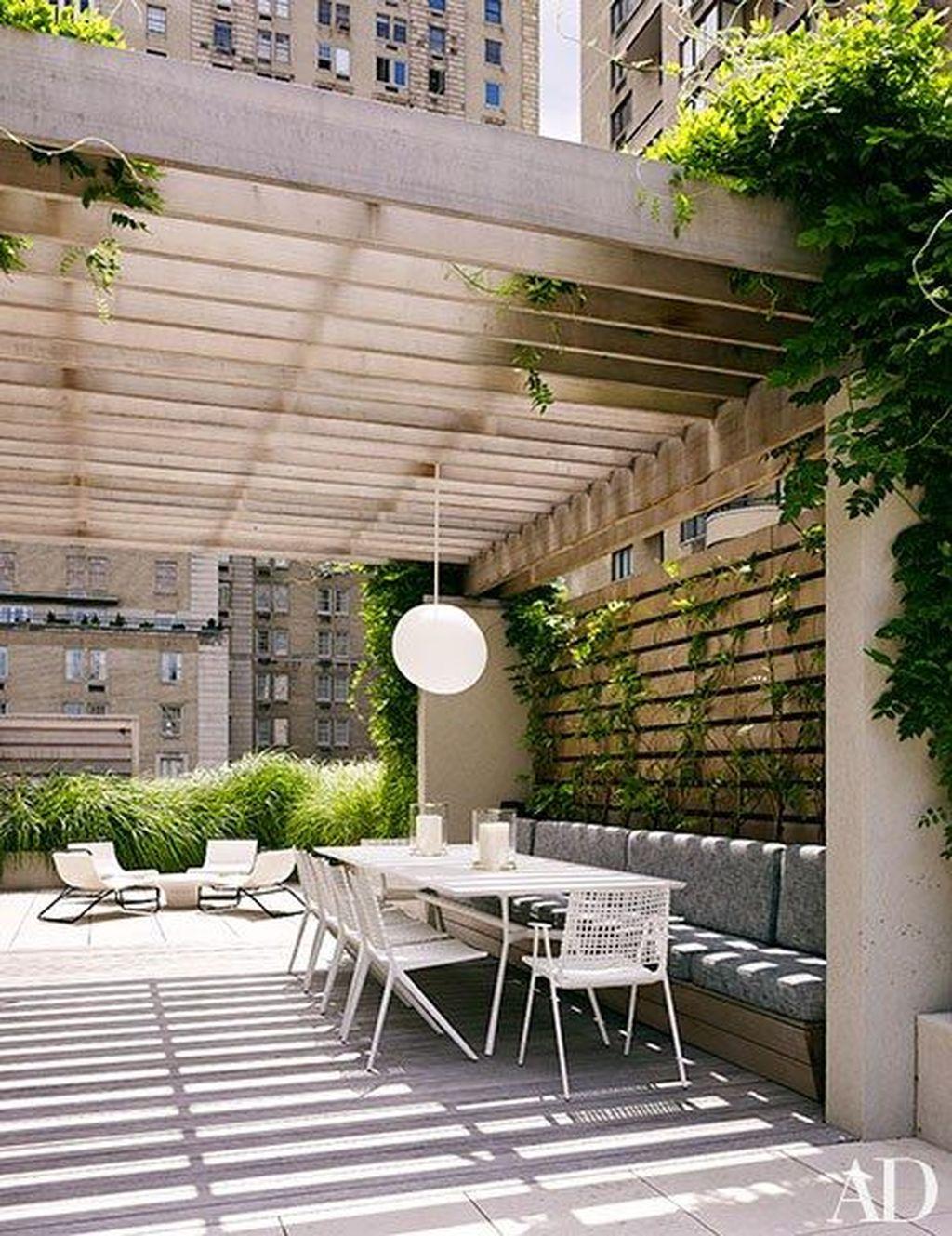 Modern Roof Terrace Design Ideas 16