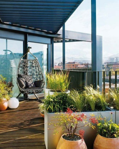 Modern Roof Terrace Design Ideas 24