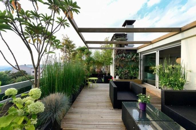 Modern Roof Terrace Design Ideas 33