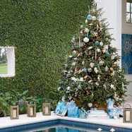 Pretty Space Decoration Ideas With Christmas Tree Lights 04