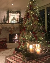 Pretty Space Decoration Ideas With Christmas Tree Lights 11