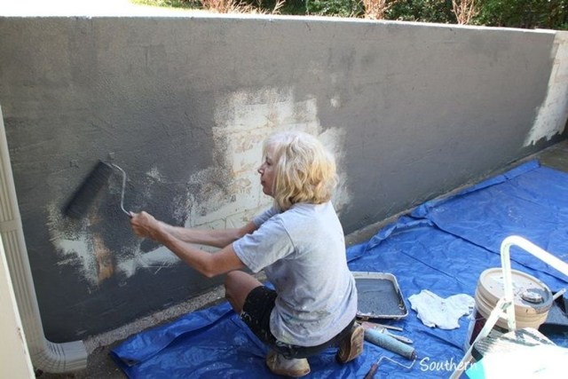 Rustic Wall Outdoor Concrete Ideas For Inspiration 06
