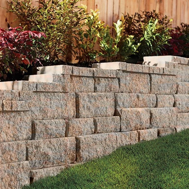Rustic Wall Outdoor Concrete Ideas For Inspiration 14