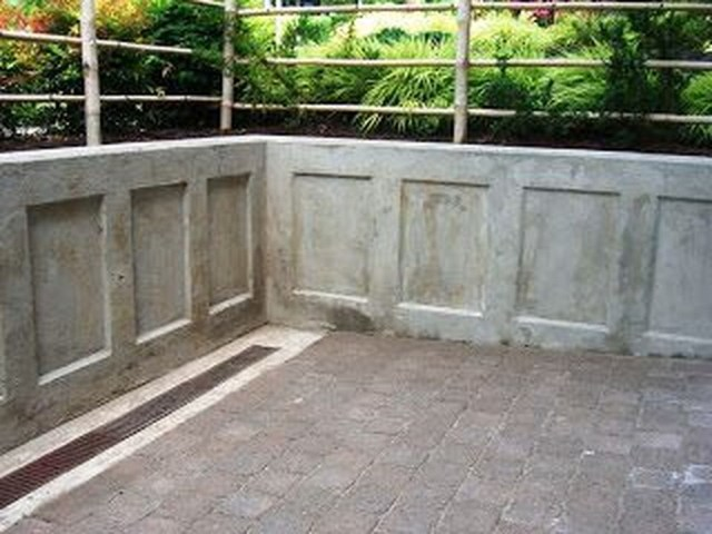Rustic Wall Outdoor Concrete Ideas For Inspiration 36