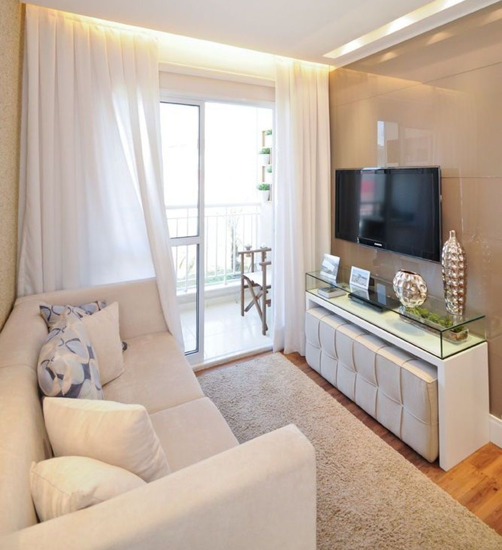 Stunning Apartment Living Room Decorating Ideas On A Budget 02
