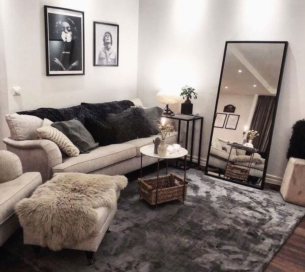 Stunning Apartment Living Room Decorating Ideas On A Budget 06