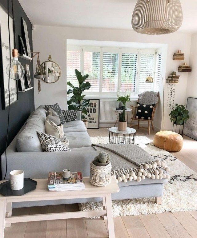 Stunning Apartment Living Room Decorating Ideas On A Budget 21