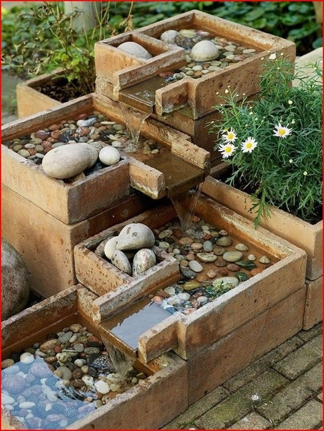 Stylish Garden Design Ideas With Cinder Block To Try 40