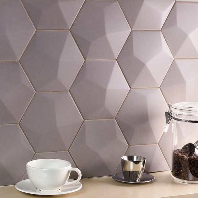 Superb Glitter Kitchen Tiles Design Ideas To Try Nowaday 10