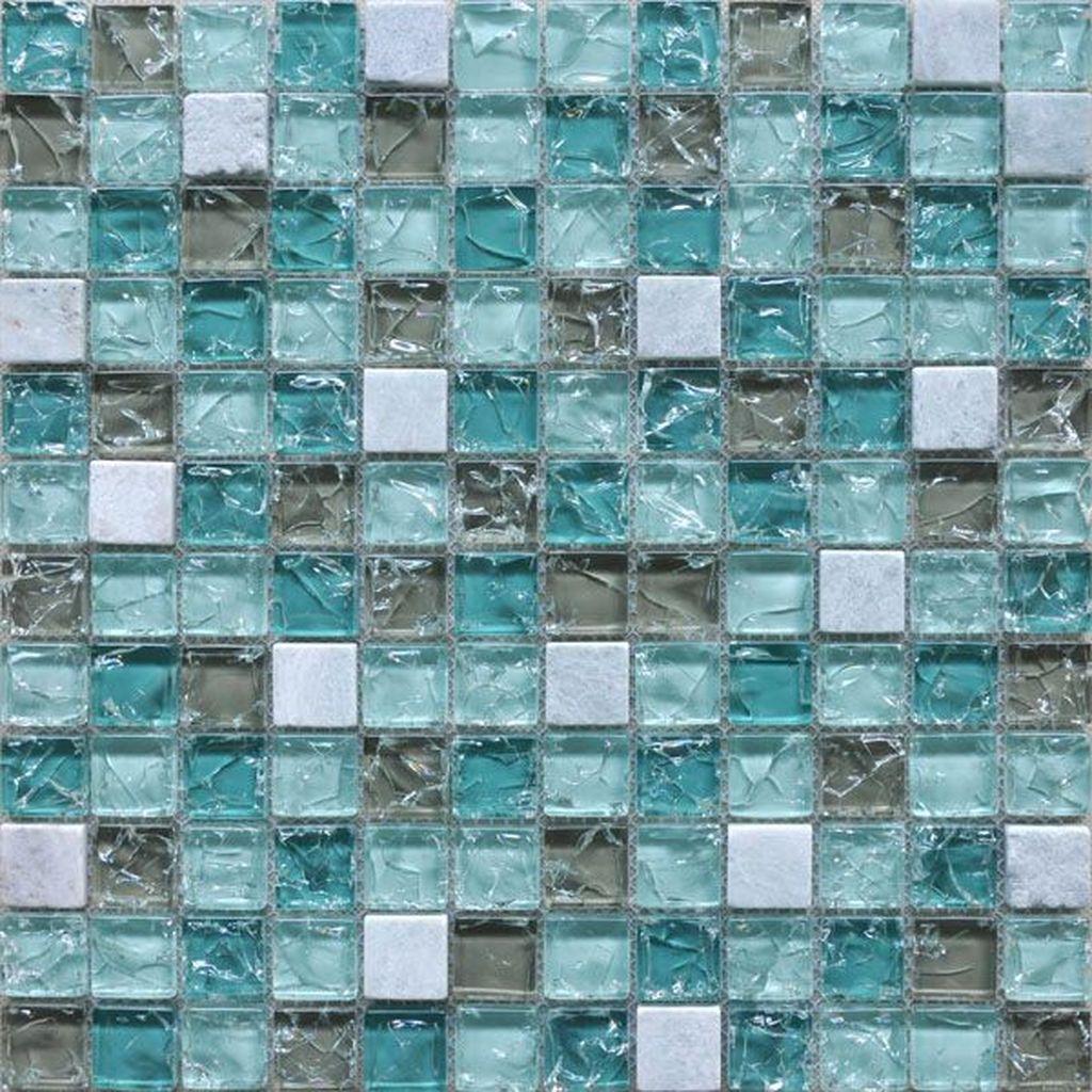 Superb Glitter Kitchen Tiles Design Ideas To Try Nowaday 16