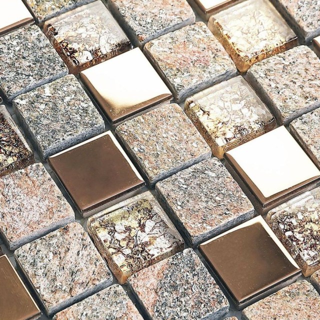 Superb Glitter Kitchen Tiles Design Ideas To Try Nowaday 24