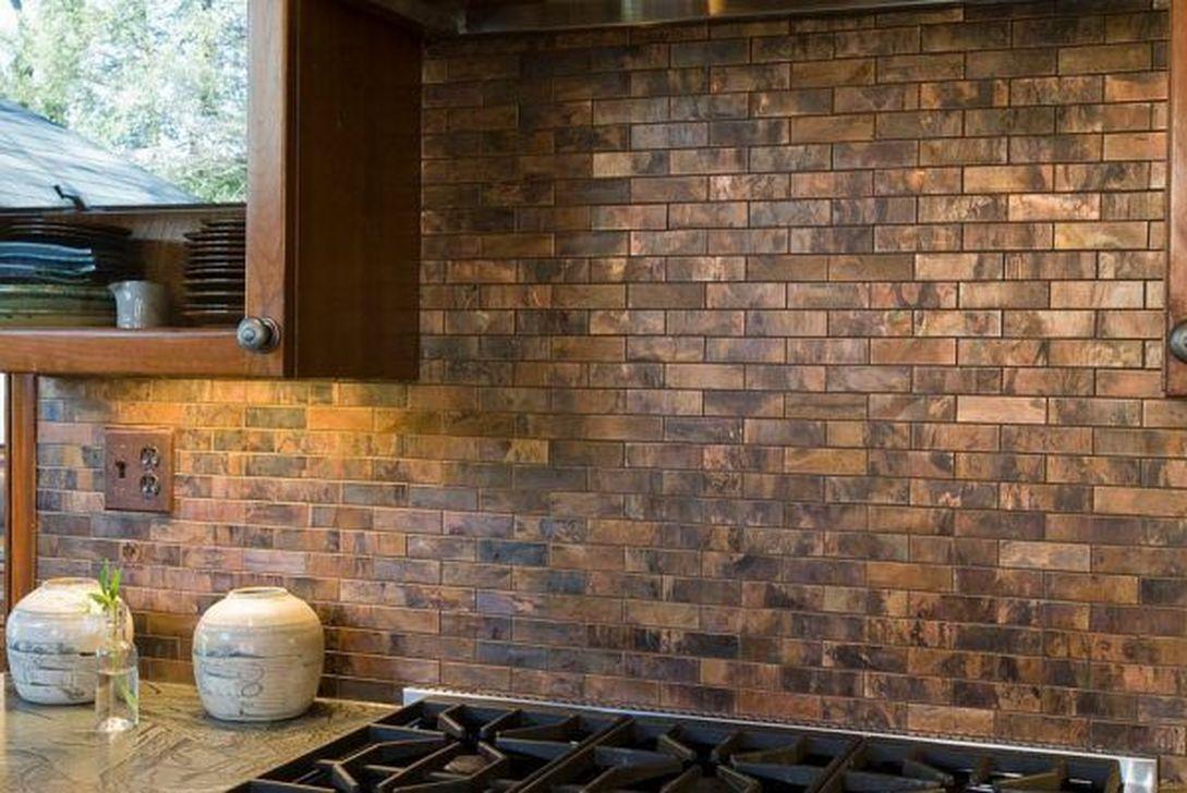Superb Glitter Kitchen Tiles Design Ideas To Try Nowaday 29
