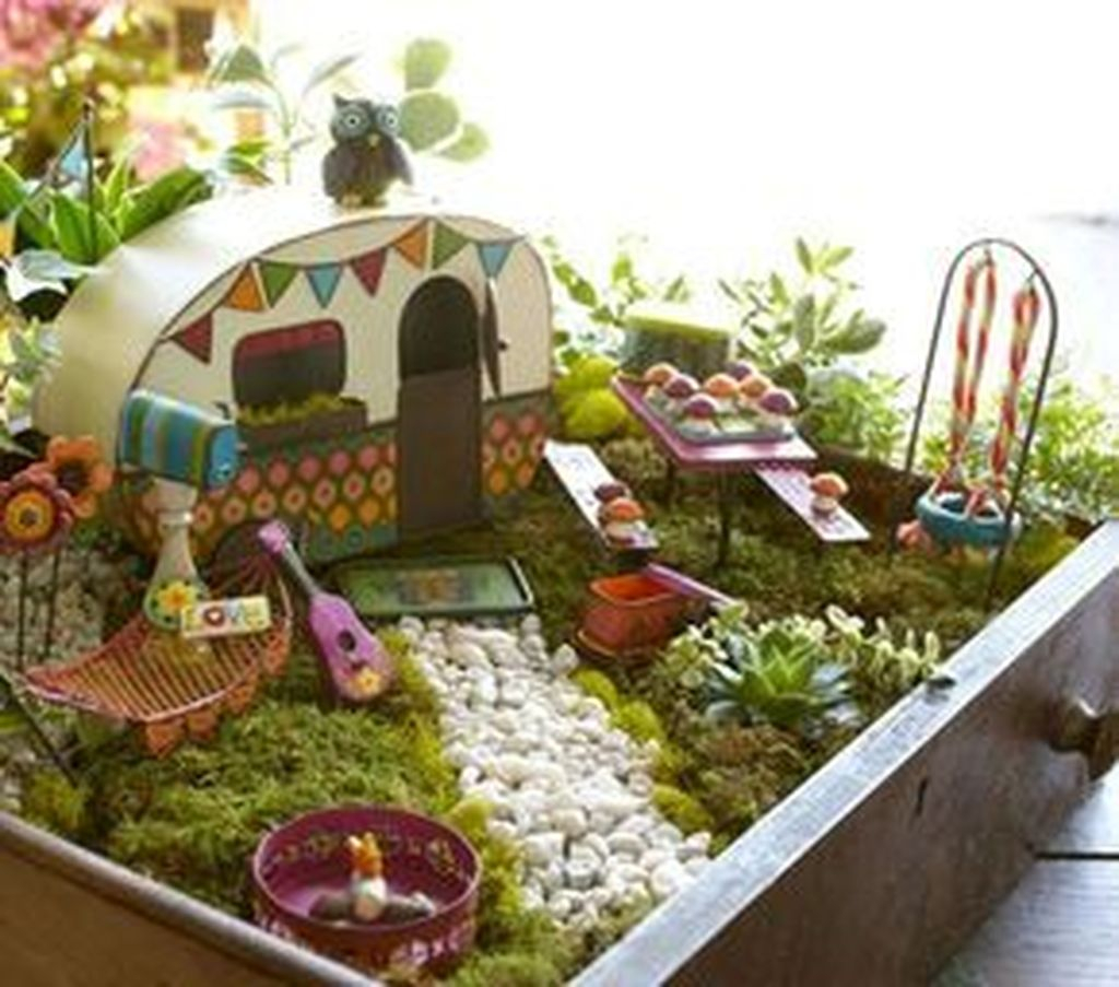 Unordinary Magical Fairy Garden Design Ideas To Try 01