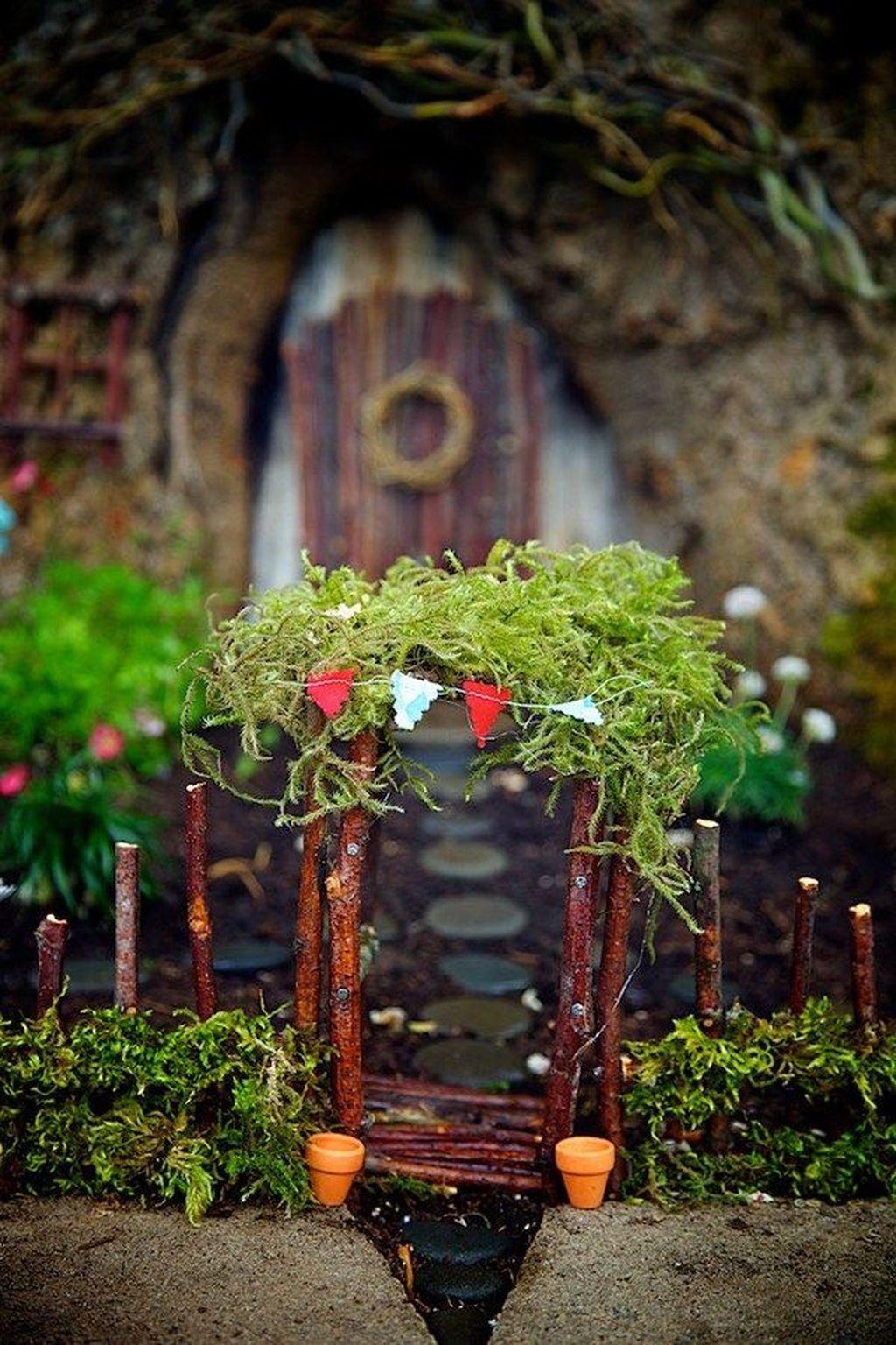 Unordinary Magical Fairy Garden Design Ideas To Try 02