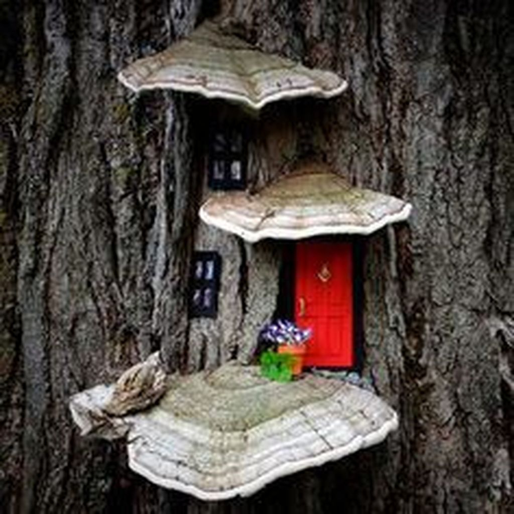 Unordinary Magical Fairy Garden Design Ideas To Try 14