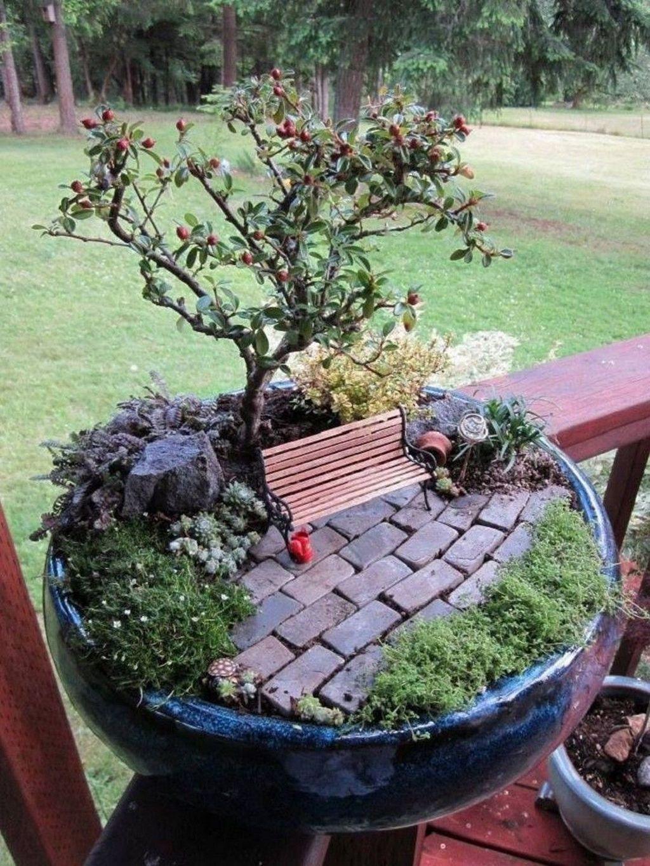 Unordinary Magical Fairy Garden Design Ideas To Try 23