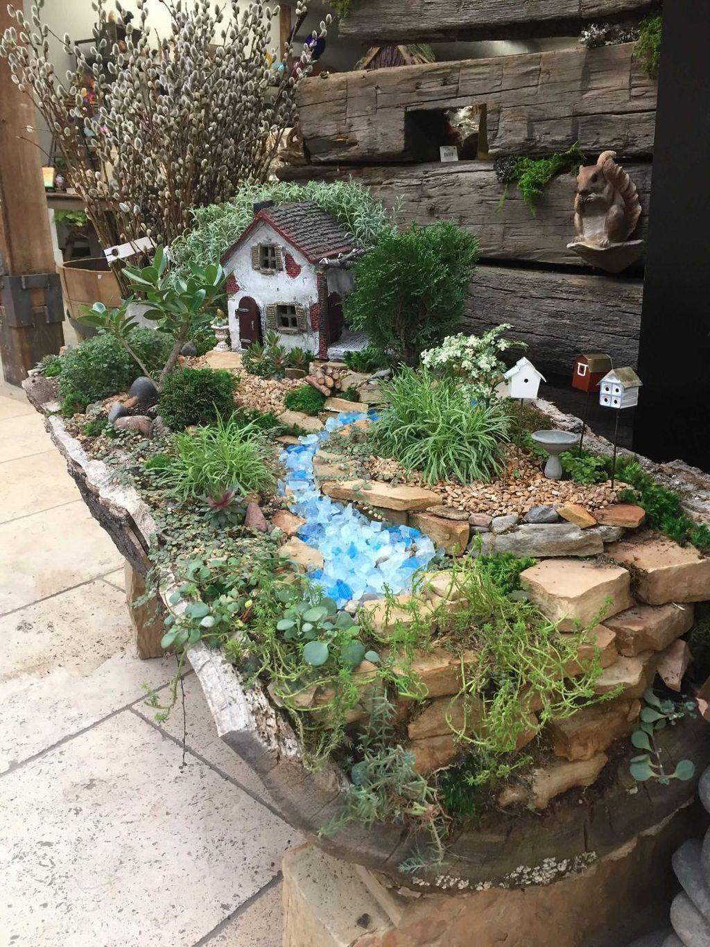 Unordinary Magical Fairy Garden Design Ideas To Try 26