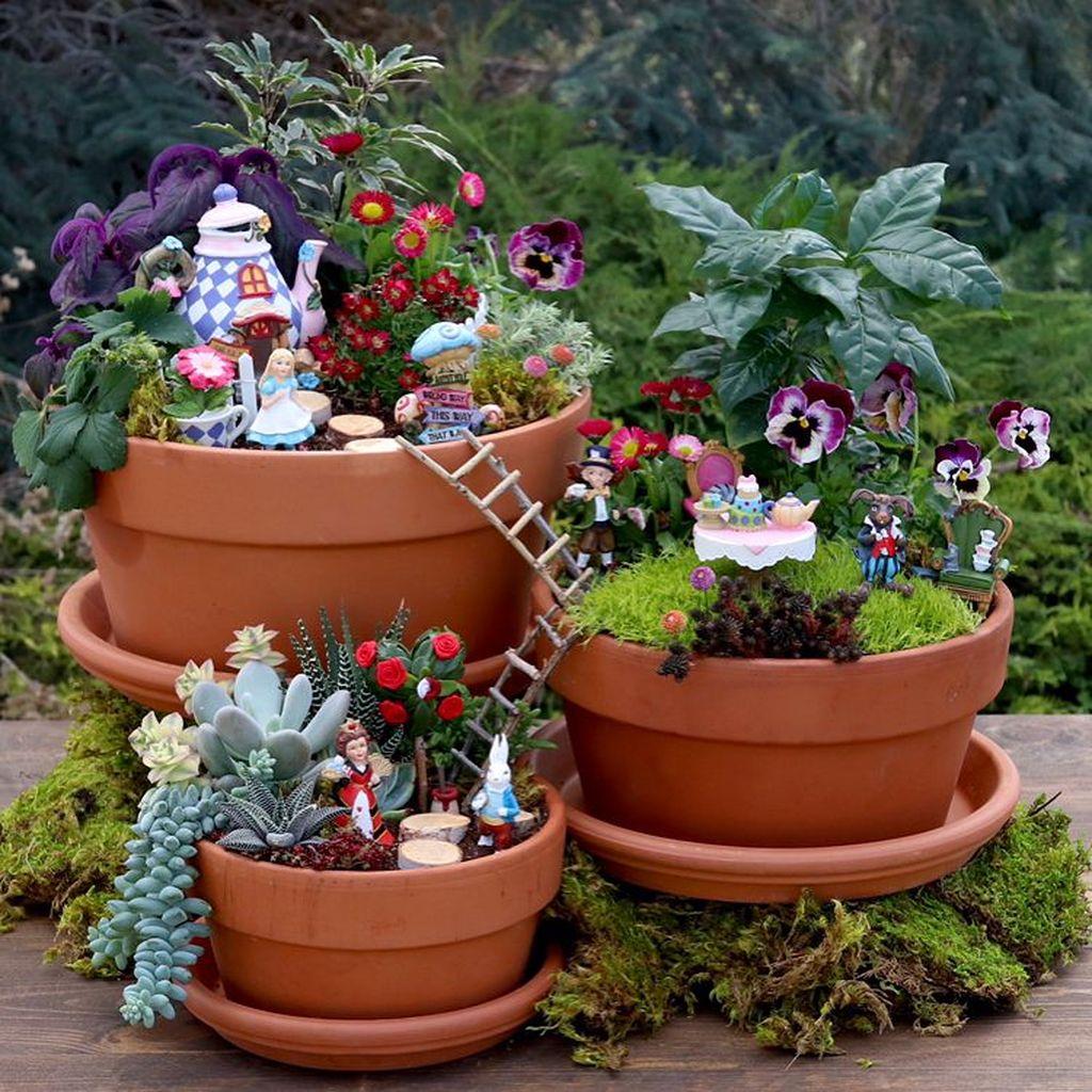 Unordinary Magical Fairy Garden Design Ideas To Try 32