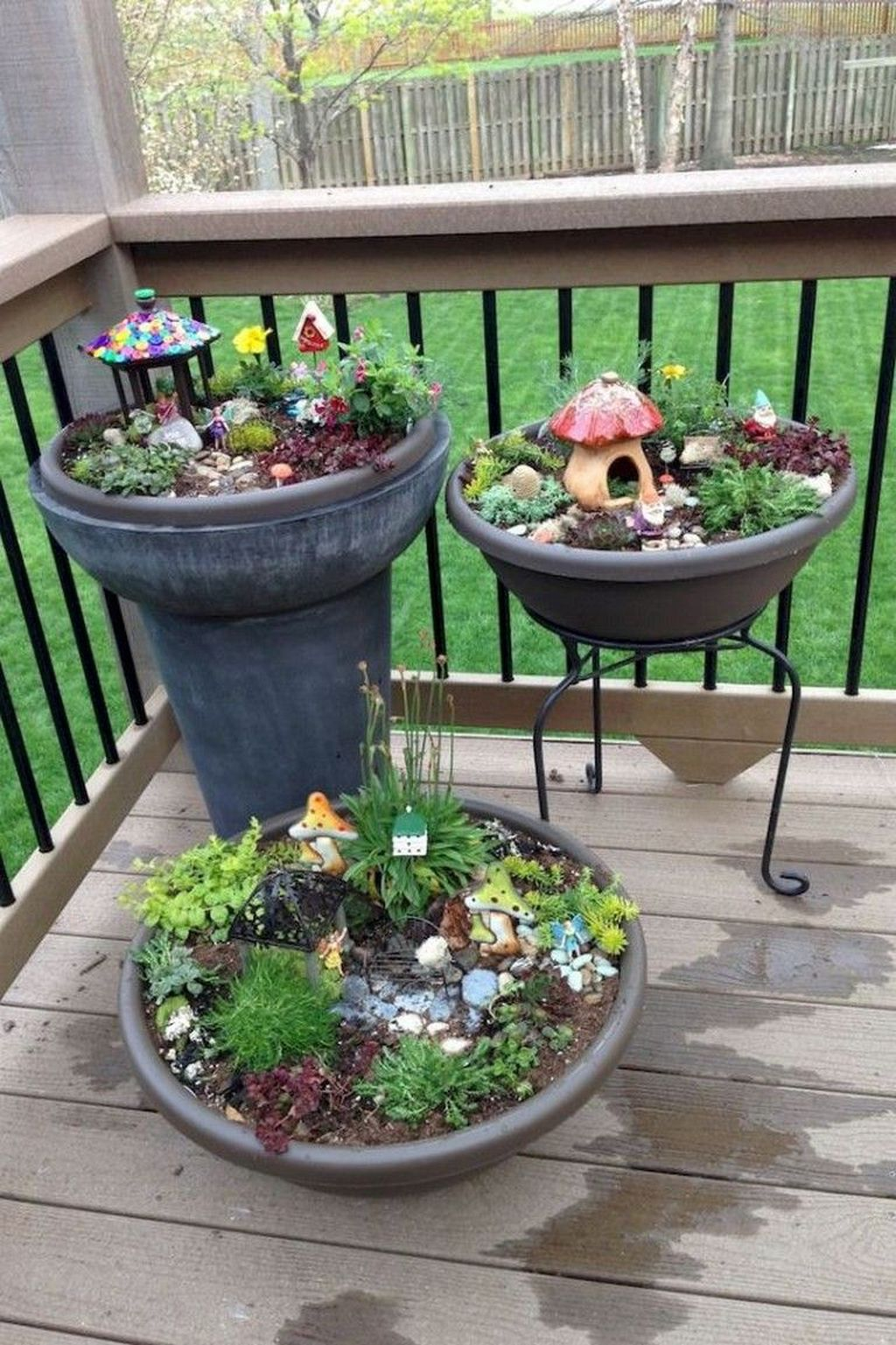 Unordinary Magical Fairy Garden Design Ideas To Try 36