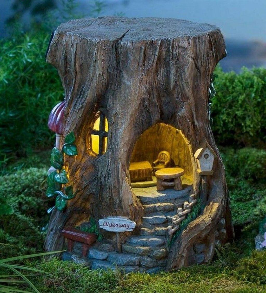 Unordinary Magical Fairy Garden Design Ideas To Try 40
